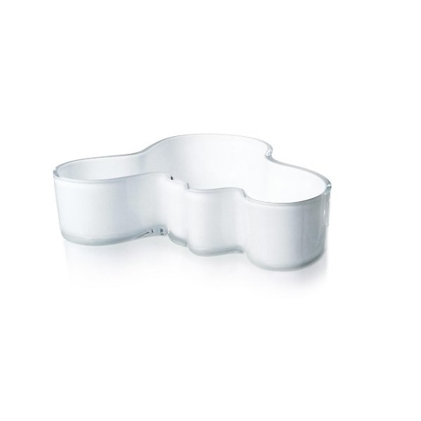 Iittala Alvar Aalto Bowl, White, 7-1/2 by 2-Inch