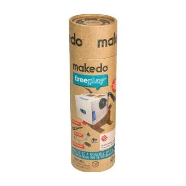 Makedo FreePlay Kit For One - 65 Pieces