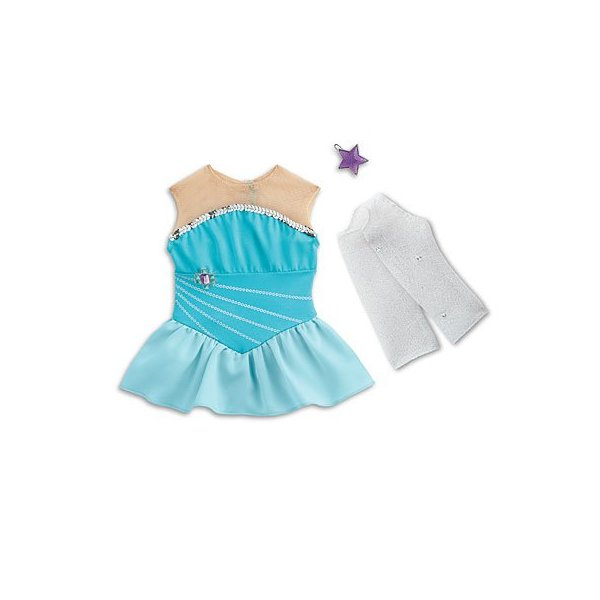 American Girl - Sparkling Skating Set plus Charm for Dolls - MY AG 2014