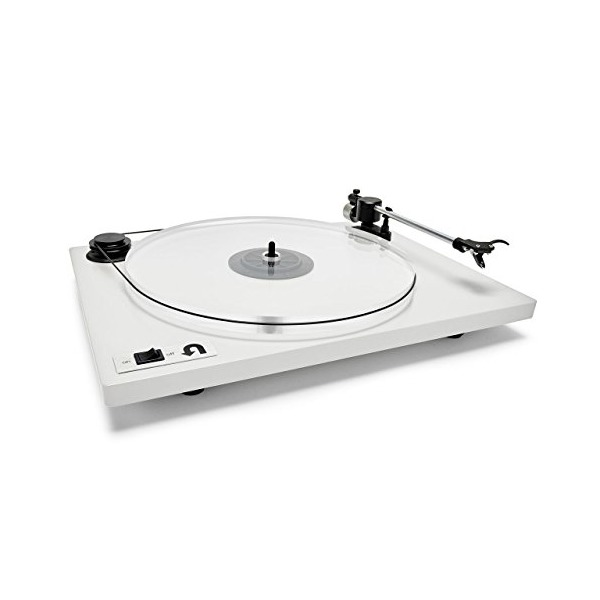 U-Turn Audio Orbit Turntable with Ortofon OM-5E Cartridge (White)