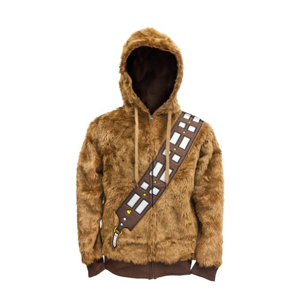 Star Wars Men's I Am Chewie Hooded Costume Fleece, Brown, XX-Large