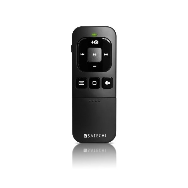 Satechi BT MediaRemote Bluetooth Multi-Media Remote Control for iPhone, iPad & iMac, MacBook Air, MacBook Pro, MacBook, and Mac Mini