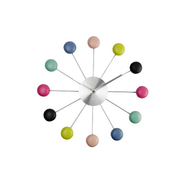 Present Time Macaron Cookies Wall Clock