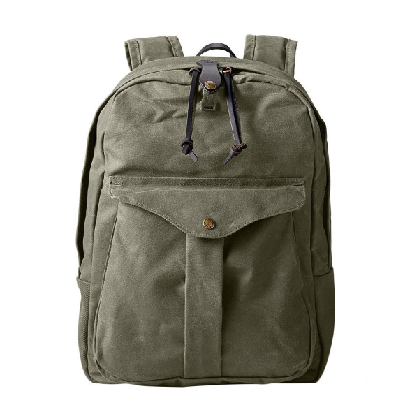 Filson Twill Backpack, Otter Green