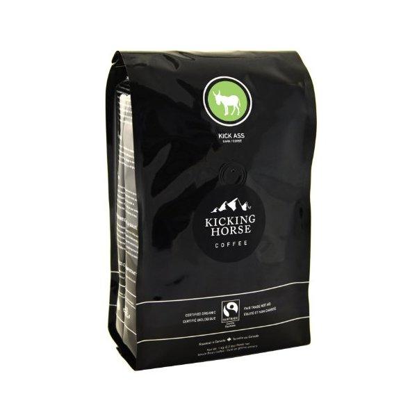 Kicking Horse Whole Bean Coffee, Kick Ass Dark Roast, 2.2 Pound