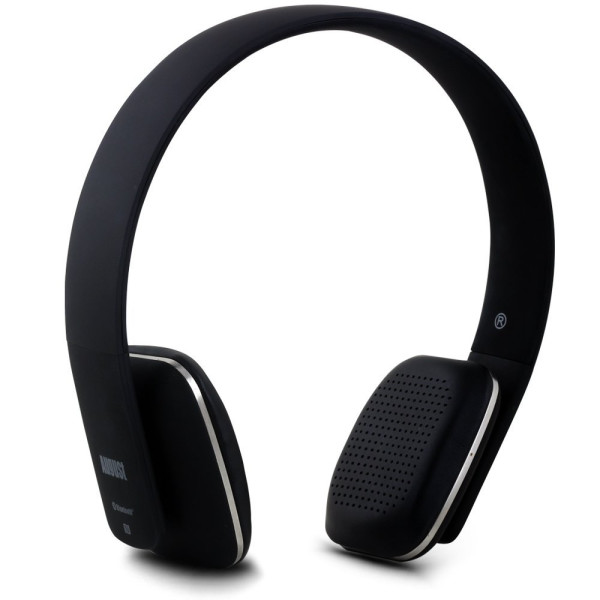 August EP636 Bluetooth Wireless Stereo NFC Headphones, Black