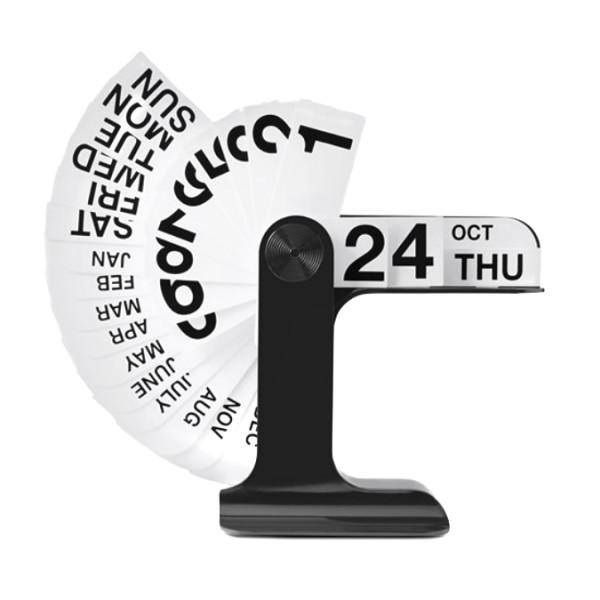 Timor Perpetual Calendar, Black