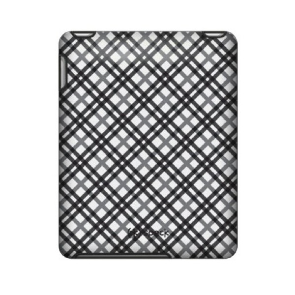 Speck Products Apple iPad Fitted Case in TartanPlaid White (Black and White Plaid), IPAD-FTD-A02A012