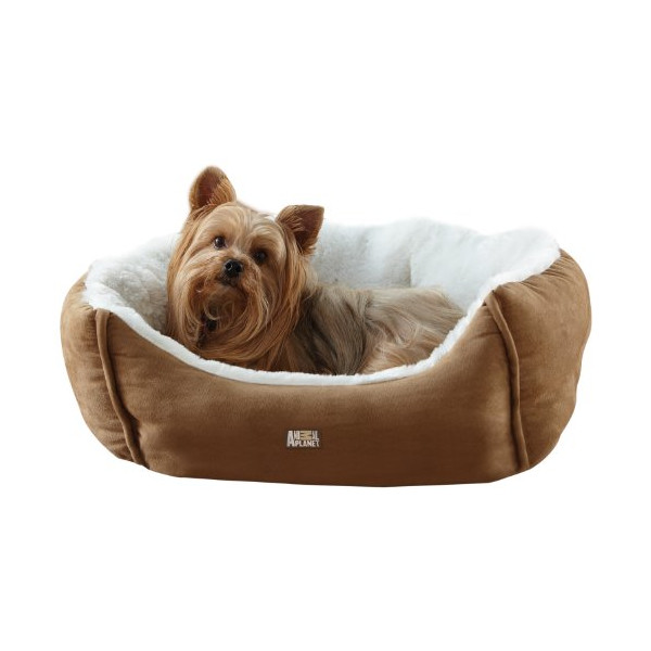 Animal Planet Micro Suede Pet Bed, Tan
