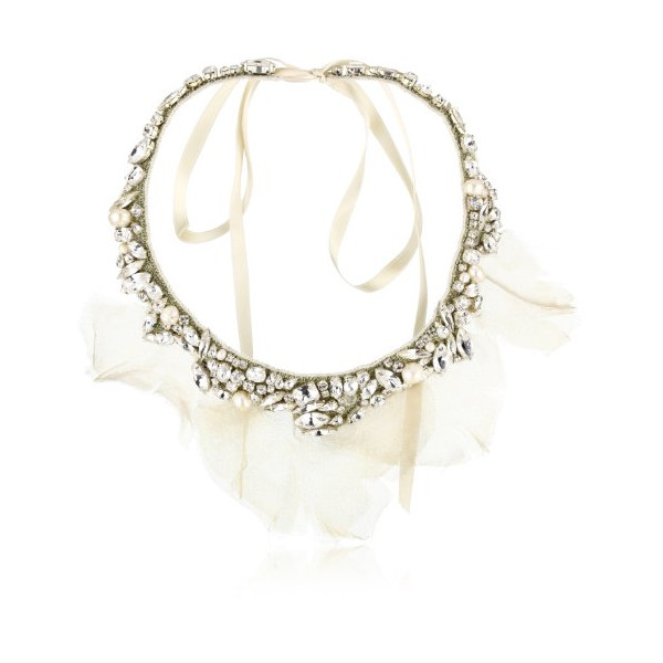 "Ranjana Khan ""Vintage Bride"" Garden Party Petal Necklace"