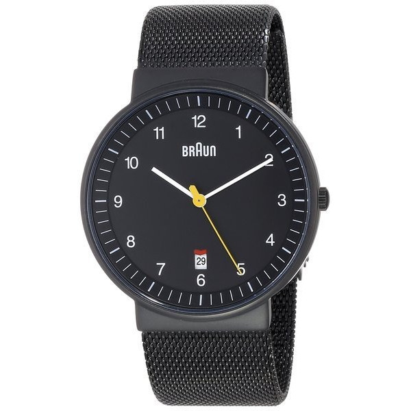 Braun Classic Mesh Analog Watch