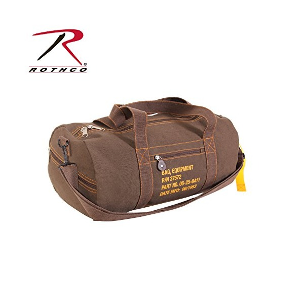 Rothco Canvas Equipment Bag - Earth Brown/19''