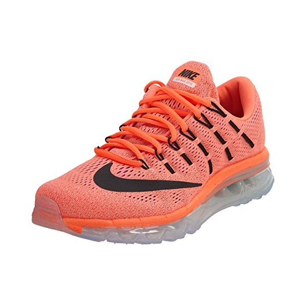 Nike Women's Wmns Air Max 2016, HYPER ORANGE/BLACK-SUNSET GLOW, 7 US