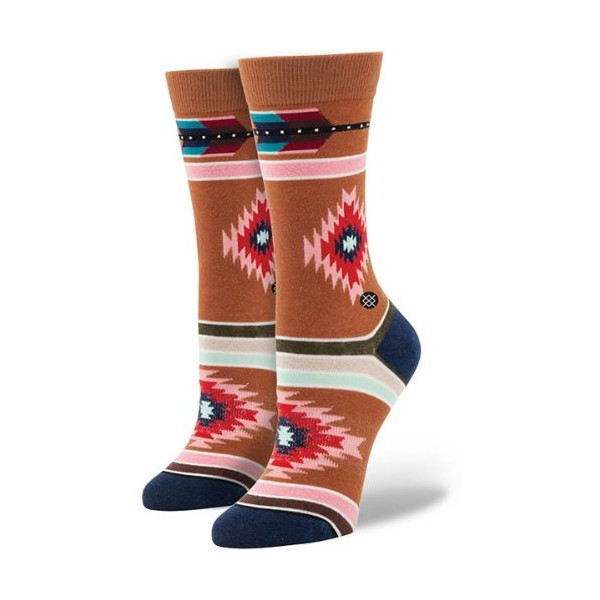 Stance Women's Shooting Arrow Socks - Tobacco One Size