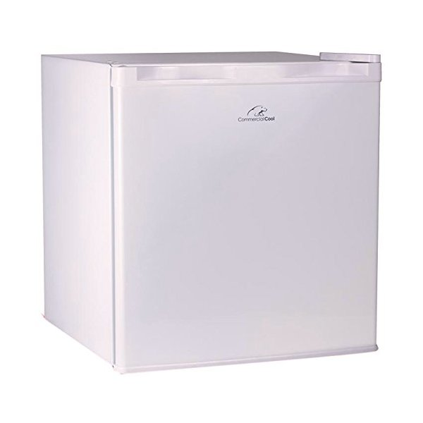 Commercial Cool CCR16W 1.6 Cubic Feet R600a 2014UL Refrigerator, White