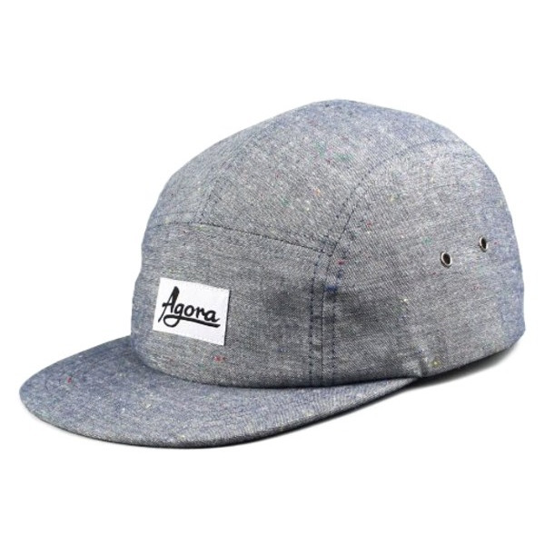Agora Fleck Chambray 5 Panel Hat