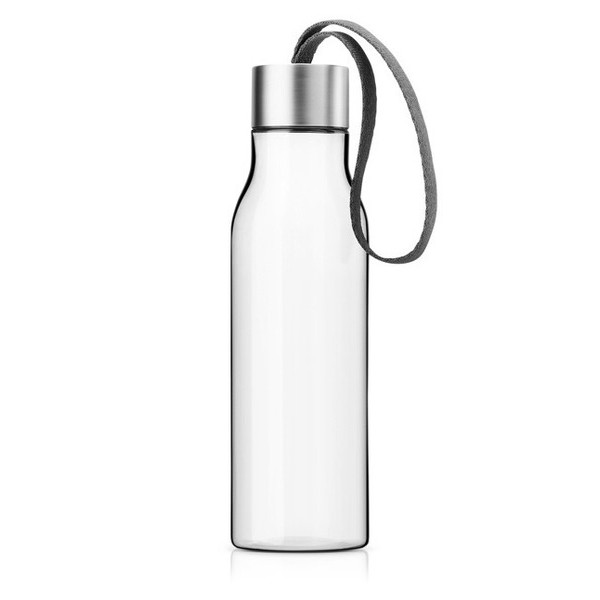 Eva Solo 1/2-Liter Drinking Bottle, Clear Glass