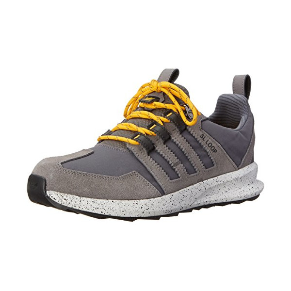 adidas Originals Men's SL Loop Runner TR Trail Running Shoe, Granite/Sharp Grey/Collegiate Gold, 11 M US