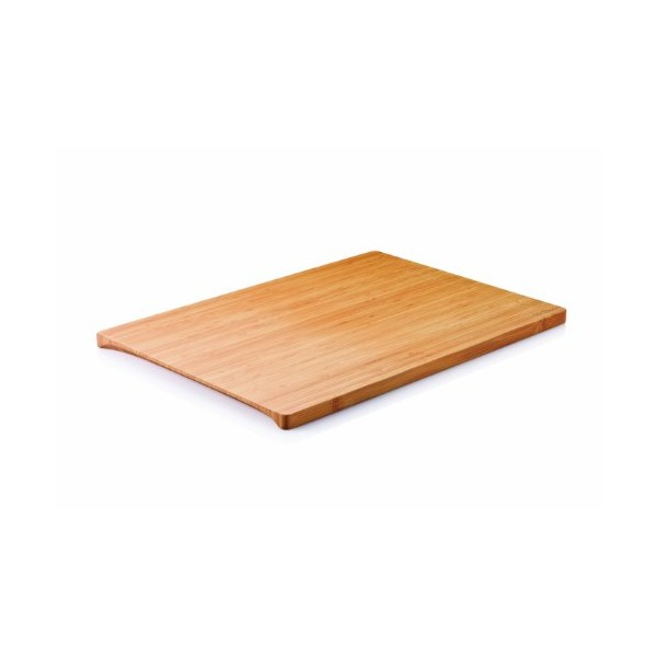 Bambu Large 14-Inch L by 9-Inch W Undercut Board, Golden Brown
