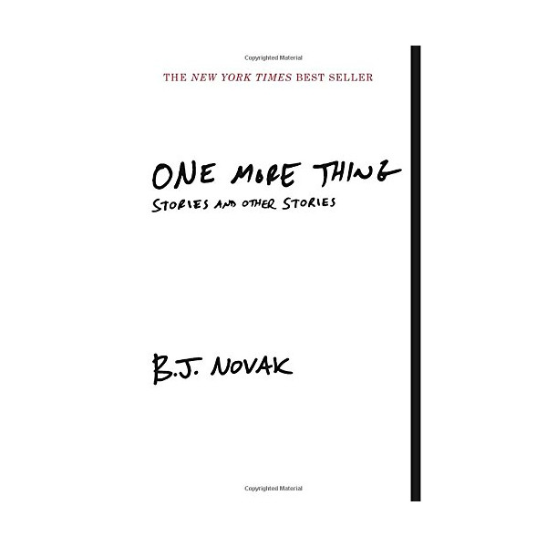 One More Thing: Stories and Other Stories (Vintage Contemporaries)