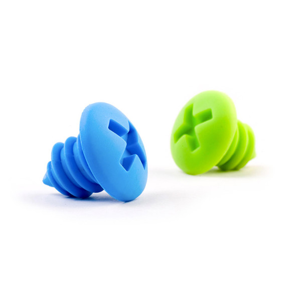 Bottle Screws Silicone Wine Bottle Stoppers, 2 per pack