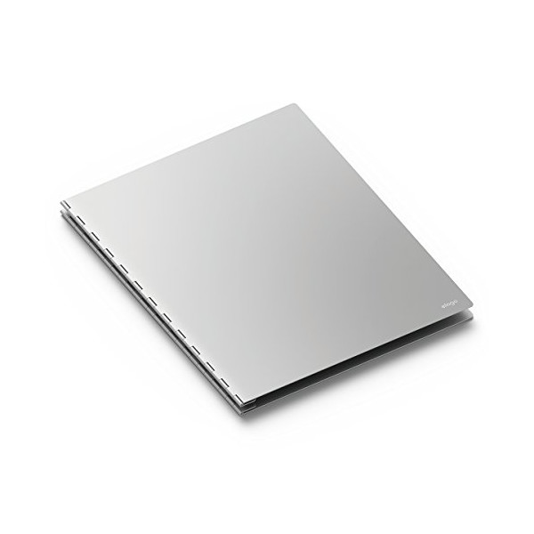 elago Aluminum Portfolio [Silver]-[Letter/A4 Size][20 Sheet/40Page][Expandable] - for professional artists