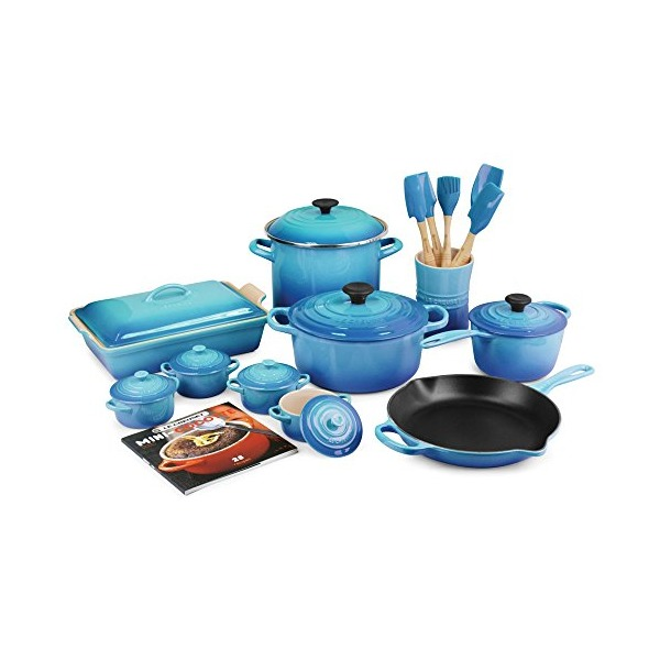 Le Creuset Caribbean 20-piece Cookware Set