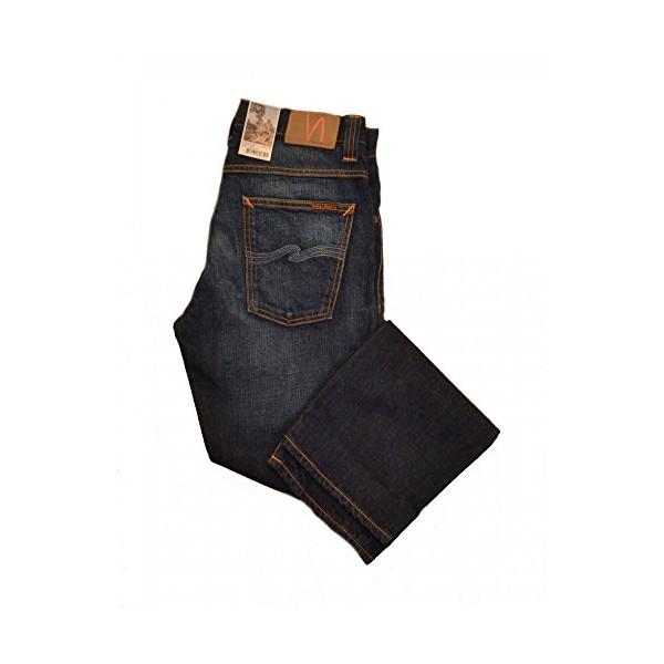 Nudie Jeans Straight Alf Organic Crinkle Fuse Jeans. 32 R Rinsed