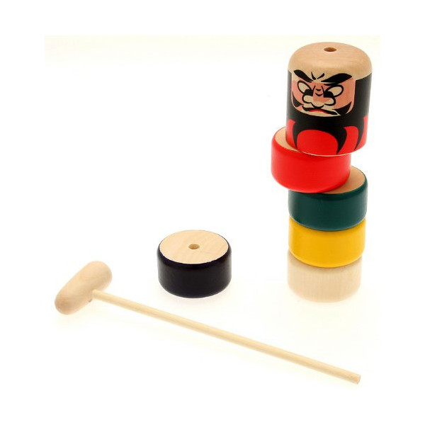 Daruma Otoshi Japanese Folk Craft Game