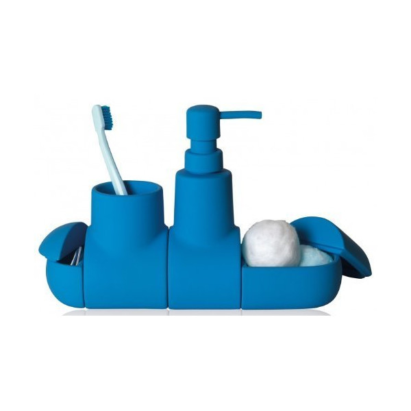 Seletti Submarino Bathroom Set Blue