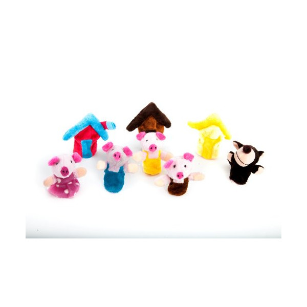 The Three Little Pigs Fairy Tale Finger Puppets