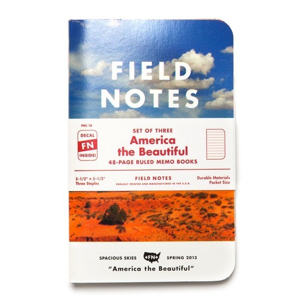 Field Notes America The Beautiful 3 Pack