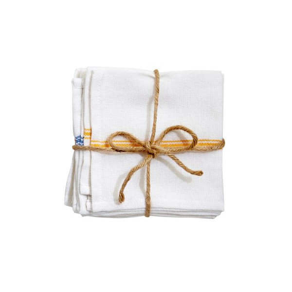 Set of 4 Kerala Striped Napkins