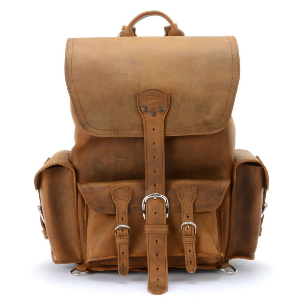 Saddleback Leather Large, Front Pocket Backpack, Tobacco