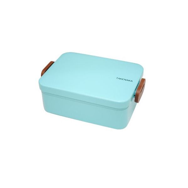 Takenaka 12-1204-33 Deep Bento Box, Light Blue