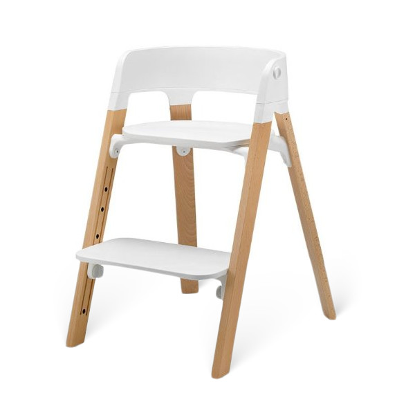 Stokke Steps Children's Highchair, Natural
