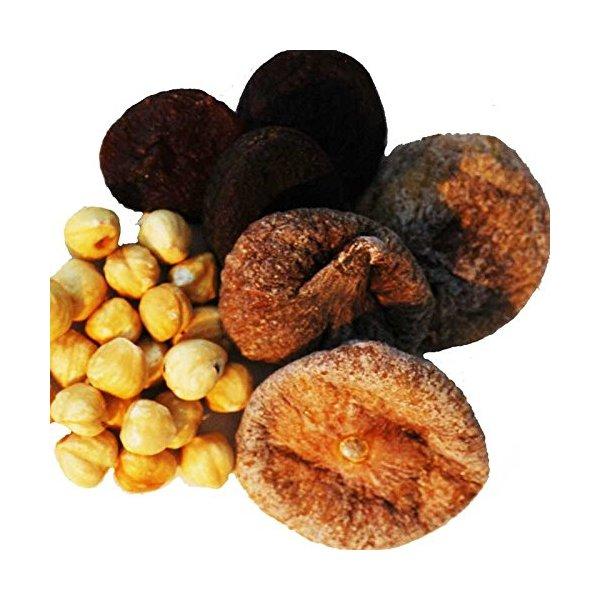 Indus Organic Turkish Delight Roasted (Figs, Apricot, Roasted Hazeletnut), Combo Pack, Sulfite Free, Salt Free, Freshly Packed