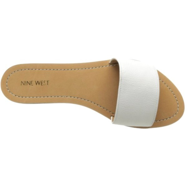 Nine West Summers Leather Sandal - White