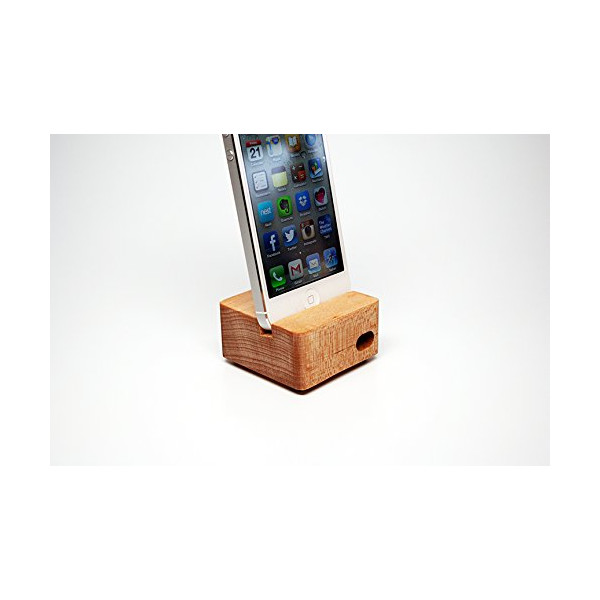 Ecoustik iPhone 5/5S (Maple) Dock