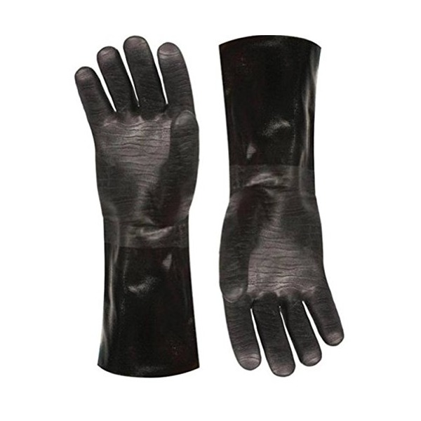 Artisan Griller Heat Resistant BBQ, Smoker, Grill, Oven and Cooking Gloves With Textured Palms. 1 pair