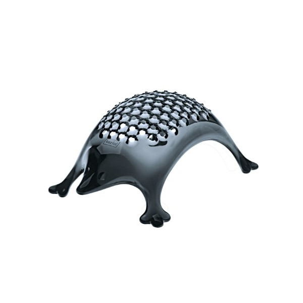 Koziol Kasimir Cheese Grater, Transparent Anthracite