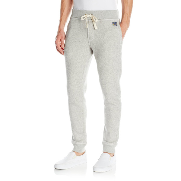 Penguin Vintage Gym Sweat Pant, Rain Heather