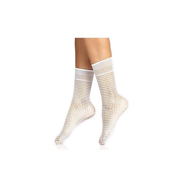 Wolford Bastille Socks, White