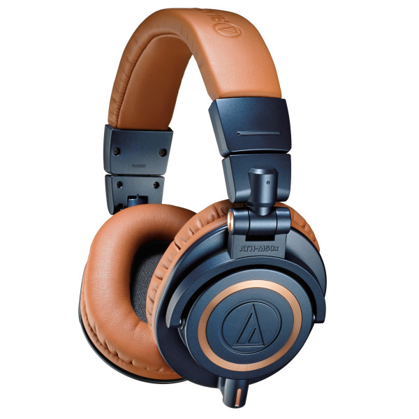 Audio-Technica Professional Headphones, Blue