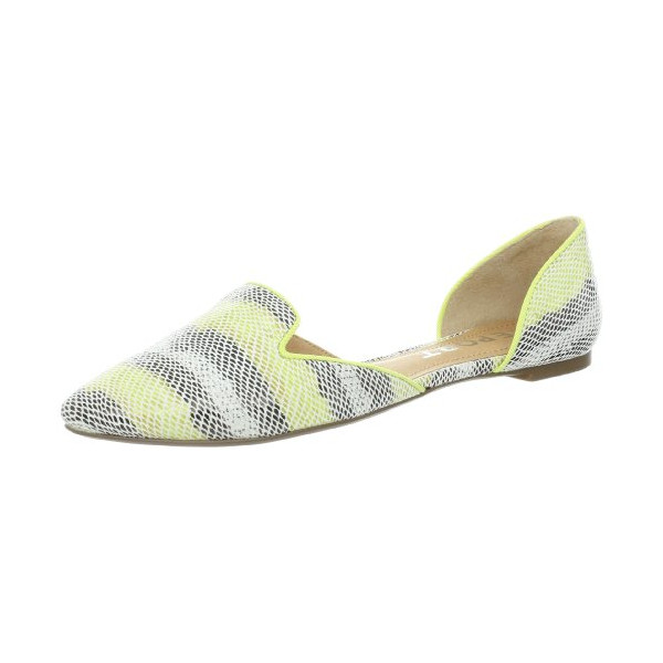 Report Women's Jezzica Flat, Lime