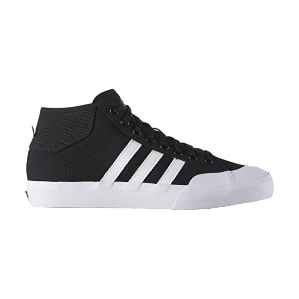 Adidas MATCHCOURT MID mens fashion-sneakers F37703_7.5 - Core Black/White