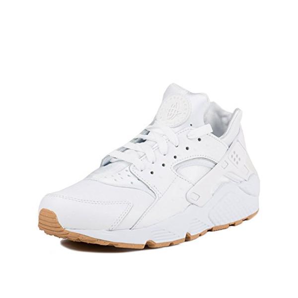 Nike Air Huarache Run PA (Ostrich) White/White-Gum Light Brown (8)