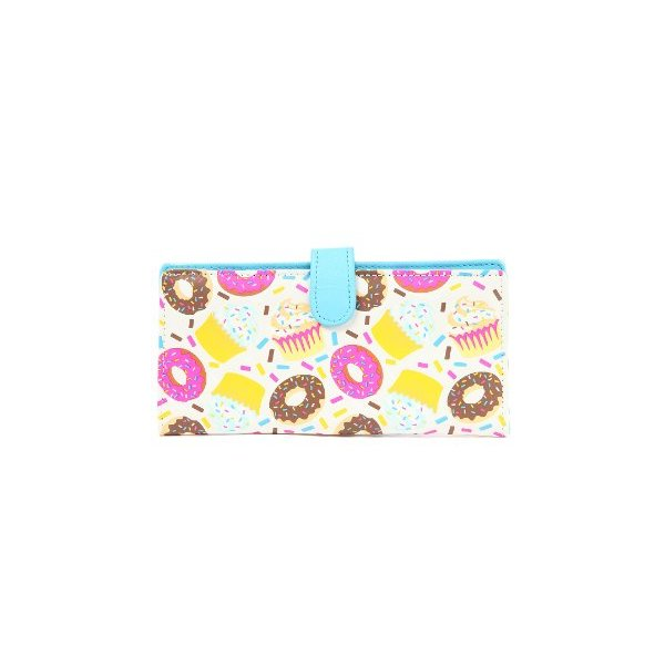 MKL Accessories Women's The Cupcakin & Donut Lovin Wallet One Size Multi