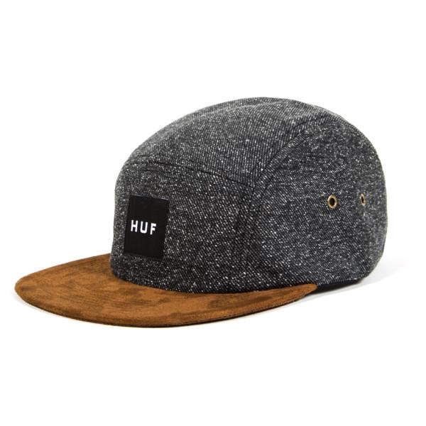 HUF Men's Tweed Volley, Black