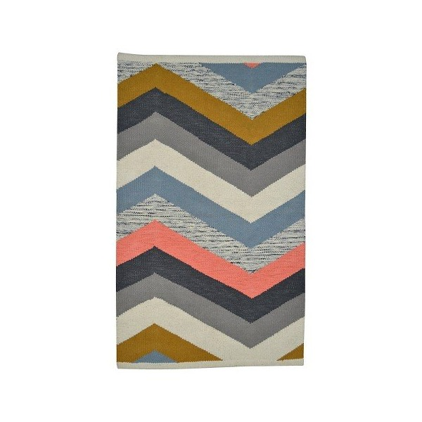 Nate Berkus 2x3' Multi Chevron Accent Rugs